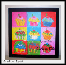 creative and curious kids paint by number cupcake pop art review