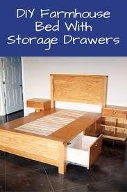 Plans For A Platform Bed With Storage Drawers by Build A Bed With Storage U2013 Canadian Home Workshop Ideas