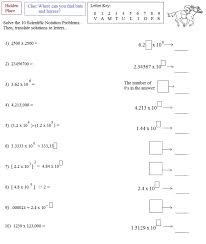 multiplying and dividing scientific notation worksheet math plane scientific notation