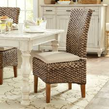 Outdoor Wicker Dining Chair Wicker Rattan Kitchen Dining Chairs You Ll Wayfair