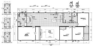 Floor Plans For Mobile Homes Double Wide Apopka 28 X 68 1813 Sqft Mobile Home Factory Expo Home Centers