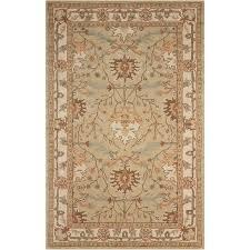 nourison caspian hand tufted sage green wool rug 5 u0027 x 8 u0027 free