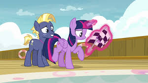 Holding The Flag Image Twilight Holding The Race Flag Next To Star Tracker S7e22