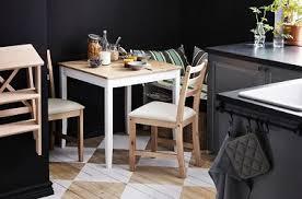 table de cuisine moderne petites tables de cuisine en 14 modèles déco gain de place