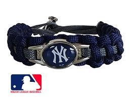 Handmade In New York - new york yankees paracord bracelet handmade by us veterans