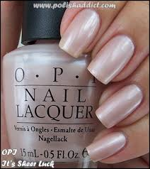 opi it u0027s sheer luck the polish that started my obsession frost
