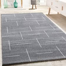 teppiche wohnzimmer designer teppich wohnzimmer modernes design in grau weiß meliert