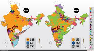 India Political Map The Bjp U0027s New Political Footprint Livemint