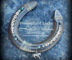 personalized horseshoes personalized genuine lucky horseshoes available in a single name