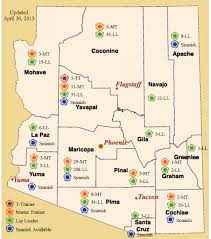 Apache Junction Az Map Arizona Partners By County Arizona Living Well Institute