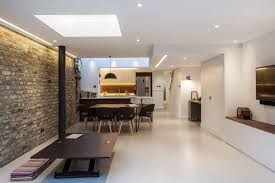 light space and a cheerful family zone modern extension of