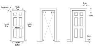 Standard Door Size Interior Standard Door Size For Bathroom Bathroom Doors Size Door Sizes