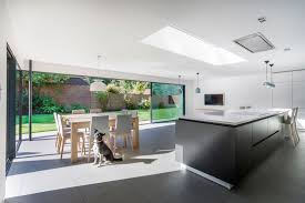 Georgian Home Interiors by Modern Extension Enriches Neo Georgian Home In London