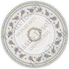 nappe ronde tissu enduit provence tissus toselli