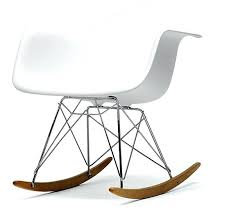 modern rocking chairs designer rocking chair plastics textured pad
