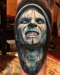 tattoo ideas zombie 51 horror zombie tattoos for leg