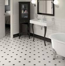 octagon floor tiles black and white wood floors