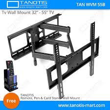 tv wall mount 400 x 400 tanotis imported swivel tilt heavy duty dual arm full motion tv