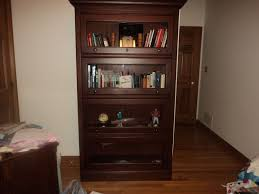 Cherry Wood Bookcase With Doors Top Cherry Wood Bookshelves On Furniture With Hooker Furniture