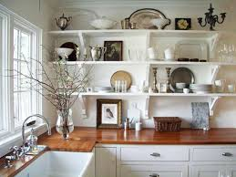 Small Kitchen Ideas Backsplash Shelves by Kitchen Chandelier Wooden Open Shelves Ceramic Backsplash