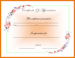8 ms word certificate template itinerary template sample