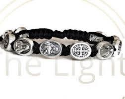 catholic bracelet catholic jewelry etsy