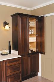 Wall Linen Cabinet Bathroom Best 25 Corner Linen Cabinet Ideas On Pinterest Bathroom Corner