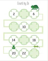 counting worksheets 2 3 4 5 6 7 8 9 10 11 12 and backwards