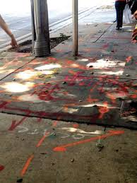 why our sidewalks are covered in spray paint brickell homeowners