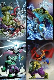 battle week hulk thor battles comic vine