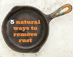 How To Remove Rust Stains From Bathtub Naturally Saturday Assignment Remove Household Rust With These 5 Natural