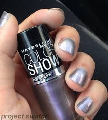 maybelline holographic color show polishes information plus quick