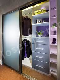 Modern Closet Sliding Doors Sliding Door Closet Organization Doors Modern New York By
