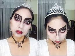 maquillaje para halloween el cisne negro the black swan mali