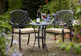 Garden Bistro Chair Cushions Amalfi 2 Seater Cast Aluminium Garden Bistro Set Uk 315