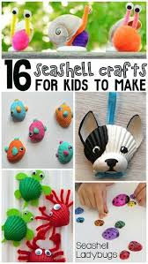 Pinterest Crafts Kids - best 25 shell crafts kids ideas on pinterest crafts with