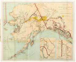 Rare Maps Collection Of The by 1898 Alaska Klondike Gold Rush Map Price Estimate 150 200