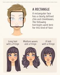 best haircuts for rectangular faces 2 a rectangle face shapes pinterest face shapes face and hair