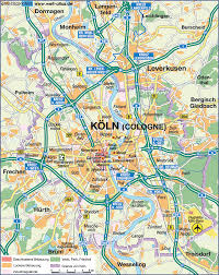 Map Of Germany Cities by Koln Map