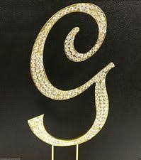 wedding cake toppers letters monogram cake toppers ebay
