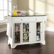 cherry wood bordeaux shaker door crate and barrel kitchen island