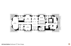 triplex house plans see the floor plans for vince vaughn u0027s huge triplex penthouse