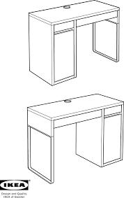 bureau micke ikea handleiding ikea micke bureau pagina 1 40 dansk