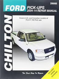 chilton ford pick ups 2004 14 repair manual covers u s and
