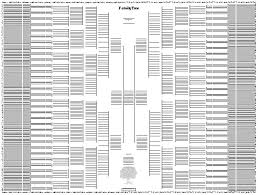 11 Generation Family Tree Template 10 generation bow tie chart genealogy tools and equipment