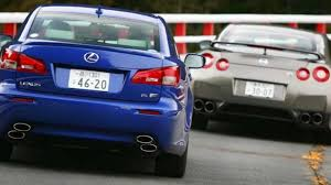 lexus isf turbo 2009 nissan gt r vs 2008 lexus is f road warriors autoweek