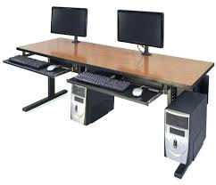 Dual Monitor Computer Desks Multiple Computer Desk U2013 Sports Buzz U2013 Computer Desk Ideas