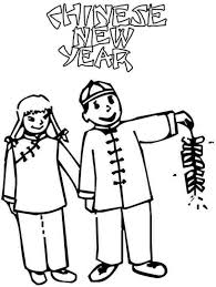 free chinese new year coloring pages new year coloring pages of