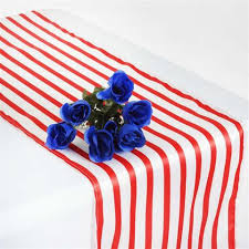 red and white table runner lovable satin stripes table runner white red tablecloths