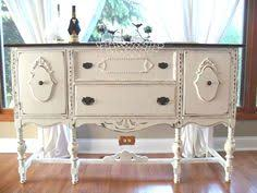 antique white buffet table i love these colors why am i never this daring i love them but